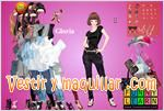 Juegos gloria dress up vestir a gloria