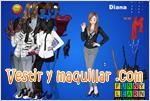 Juegos diana dress up vestir a diana