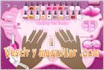 Juegos nail paint design pintura de u�as