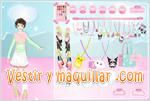 Juegos mega decora dress up game moderna ni�a