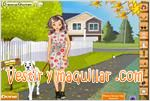 Juegos dog walker dress up paseadora de perros