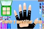 Juegos new fashionable nail art u�as de moda