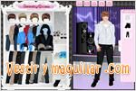 Juegos cute justin dress up vestir a justin