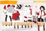 Juegos little red riding hood moda de color rojo