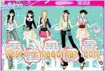 Juegos sparkling girl dressup vestir a las modelos