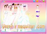 Juegos bride dressup. viste a la novia