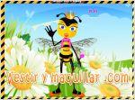 Juegos queen bee. viste a la reina abeja
