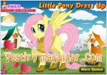 Juegos little pony dress up. viste al pony