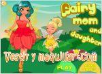 Juegos fairy mom and daughter. hada mama y ni�a