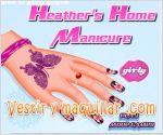 Juegos heather. manicura