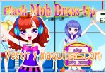Juegos flash mob dress up. vestidas para el baile