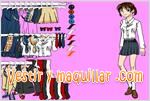 Juegos student girl dress up game vestir a la estudiante