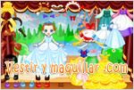 Juegos princess dress up vestir a una princesa