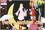 Juegos moon kana vistiendo a kana en la luna