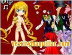 Juegos rozen maiden dress up vestir a una de las rozen maiden