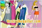 Juegos sleeping beauty dress up vestir a la bella durmiente