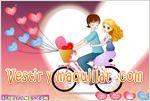 Juegos admirable bicycle lovers enamorados en bicicleta