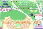 Juegos ishas crazy nail studio loco estudio de u�as