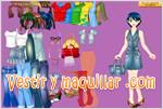 Juegos barbie dress up bella barbie