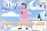 Juegos fantasy fairy dress up vestir hadas