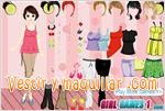 Juegos model girl dress up vestir a la modelo