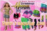 Juegos hannah montana dress up estilo hannah montana