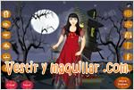 Juegos mountain witch dress up maquillar y vestir a la bruja