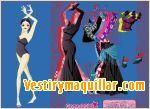 Juegos flamenco dress up vestir a la bailarina de flamenco
