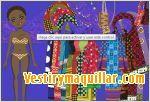 Juegos abibabou dress up vestir a una chica africana