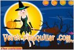 Juegos halloween beauty witch bella bruja